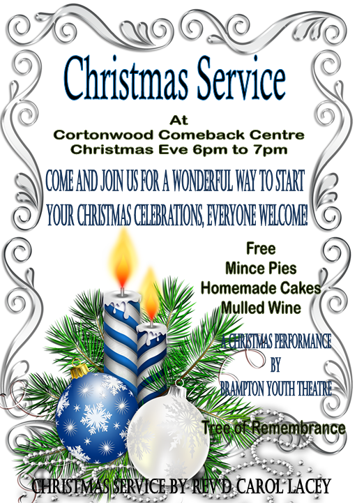 Christmas service poster 2015
